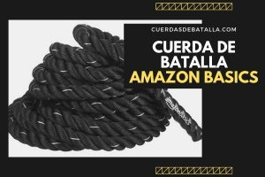 CUERDA DE BATALLA AMAZON BASICS