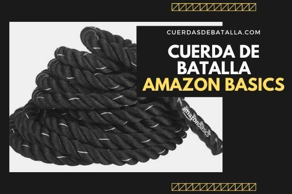 CUERDA DE BATALLA AMAZON BASICS