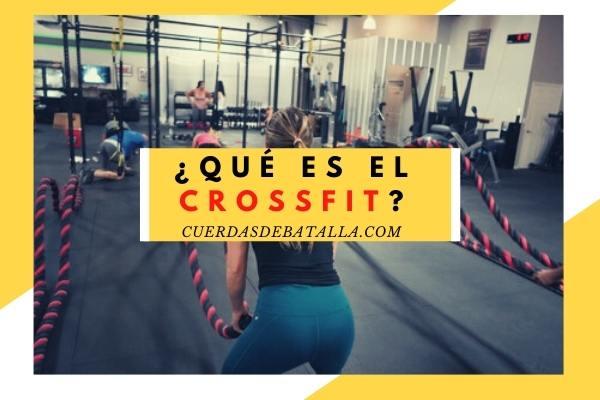 Qué es el crossfit